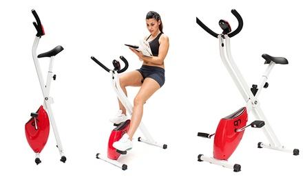 Bicicleta estática dobrável Q7 com ecrã LCD por 99,90€