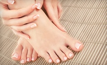 Two or Four Mani-Pedis at Hair Shop (Up to 63% Off)