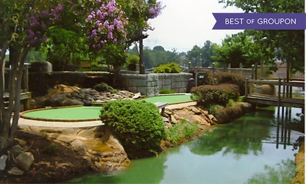 27 Holes of Mini Golf for Two or Four at Pirates Cove Adventure Golf (39% Off)