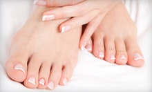 One or Three Manicures and Pedicures at A Touch of Beauty Salon and Spa (Up to 67% Off)