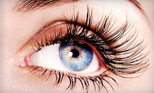One of Three Full Sets of Eyelash Extensions at Oasis Nails (Up to 70% Off)