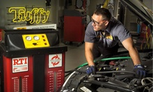 Car Care at Tuffy Auto Service (Up to Half Off). Two Options Available.