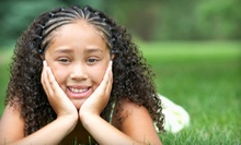 Children's Set of Cornrows or a Natural Hairstyle at Natural Gift Beauty Salon (Up to 57% Off)