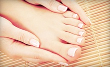 Spa or Dry Shellac Mani-Pedi, or Two Shellac Manicures or Pedicures at The Green Bath & Beauty Company (Up to 53% Off)