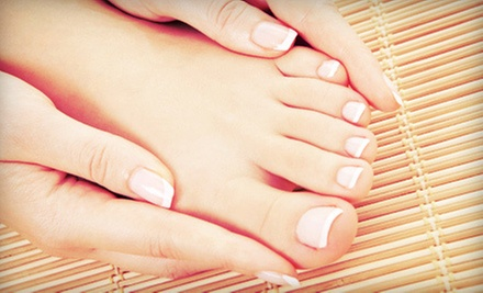 Spa or Dry Shellac Mani-Pedi, or Two Shellac Manicures or Pedicures at The Green Bath &amp; Beauty Company (Up to 53% Off)