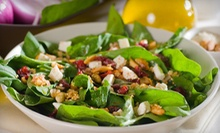 $9 for $18 Worth of Chopped Salads, Sandwiches, and Wraps at Wild Greens