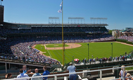 Cubs Right-Field Rooftop Seating with Food and Drinks at Down the Line Rooftop (Up to 54% Off). 12 Games Available.