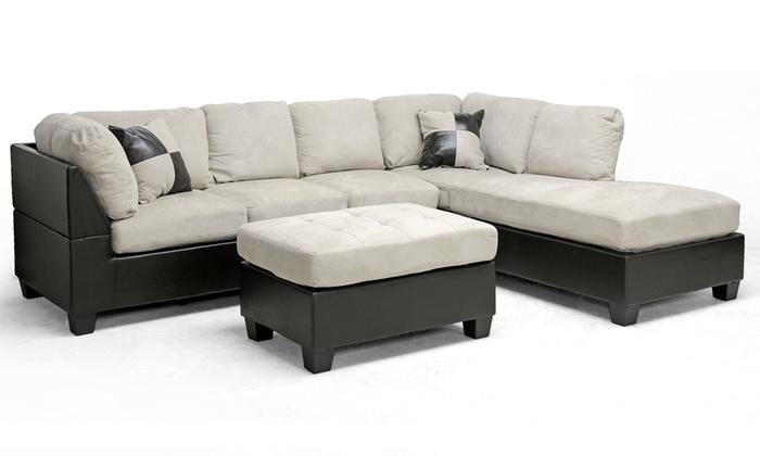 Leather Sectional Sofa Ottoman 700 x 420