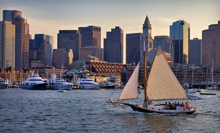 Two-Hour Traditional Sailing Adventure on Boston Harbor for One, Two, or Four from Come Sail Away Now (Up to 61% Off)