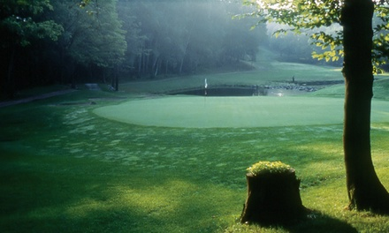 $99 for Golf, Swimming, and 20% Off Lunch for Two at Fairmont Le Chateau Montebello Golf Club ($232 Value)