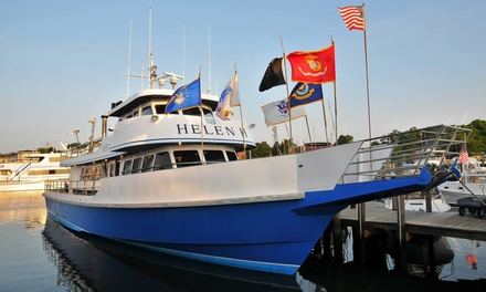 [$54 for a Four-Hour Scup and Sea Bass Fishing Trip for Two from Helen H Fleet in Hyannis ($88 Value) Image]