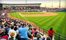 Corpus Christi Hooks Baseball Game for One or Four at Whataburger Field on April 30 or May 1 or 12 (Up to 51% Off)