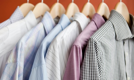 Dry Cleaning at Mirage Cleaners & Tailoring (Up to 56% Off). Four Options Available.