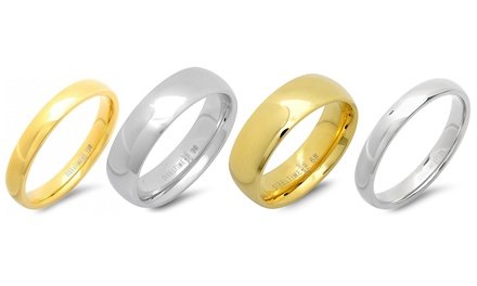 Stainless Steel Unisex Bands