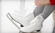 Ice Skating for Two or Four with Skate Rental at Richmond Ice Zone (Up to 57% Off)