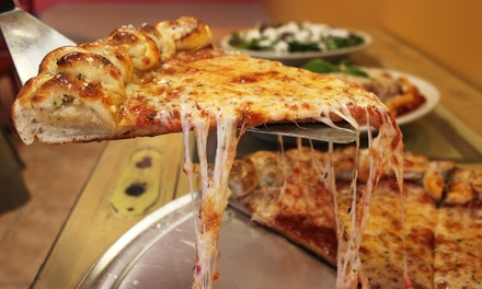 New York Style Pizza, Italian Food, and Heroes at Maglio's Pizza (Up to 45% Off). Four Options Available.
