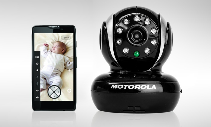 motorola blink1 wifi baby monitor groupon. Black Bedroom Furniture Sets. Home Design Ideas