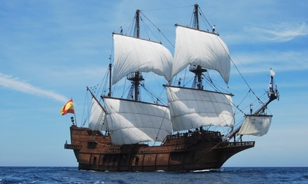 El Galeón Tall Ship Event for Two or Four Adults or Kids on October 24–November 2 (Up to 39% Off)