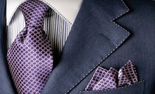 Custom-Made Men's or Women's Italian-Cotton Dress Shirt with Optional Monogram at Custom Men (Up to 67% Off)