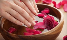 One or Three Spa Manicures with Masks, Paraffin Treatments, and Hot Stones at Royal Beauty (Up to 54% Off)