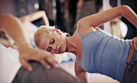10 Drop-In Fitness or Dance Classes or One Month of Unlimited Pilates Classes at Passages (Up to 61% Off)