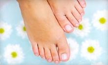 Laser Toenail-Fungus Removal for One or Both Feet at Advanced Podiatric Specialty (Up to 75% Off)