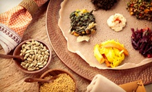 Vegetarian Meal for Two or Dahlak Meal for Two or Four at Dahlak Eritrean Cuisine (Up to 61% Off) 