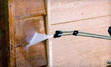 Pressure Washing for a One- or Two-Story Home from Under Pressure SC (Half Off)