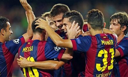 Barcelona: 2 noites para 1 pessoa com pequeno-almoço e bilhete para jogo da Liga do FC Barcelona desde 99€