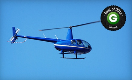$159 for a Helicopter-Flying Lesson with a Simulator Session and Flight at Tampa Bay Aviation ($325 Value)