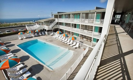 Stay for Two with Cocktails, Coffee, Beach Gear, Parking, and WiFi at The Beach Shack in Cape May, NJ