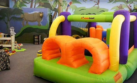 10 Play Visits or a Weekday or Weekend Birthday Party for Up to 15 at The Jungle Gym (Up to 54% Off)