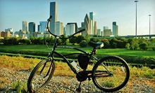 Three-Hour City Bike Tour for Two, Four, or Six from Bayou City Bike Tours (Half Off)