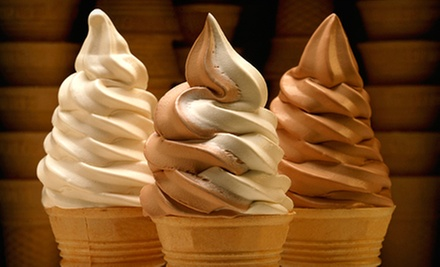 6 or 12 Small Ice-Cream Cones at Aimees Drive In (52% Off)