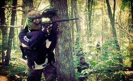 Paintball with Equipment Rental and 100 Paintballs for Two, Four, or Six at Conder's Paintball (Up to 52% Off)