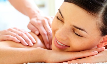 Massage with Sauna Session and Aromatherapy or Foot Scrub and Reflexology at Ana Pesce Skin Care (Up to 68% Off)