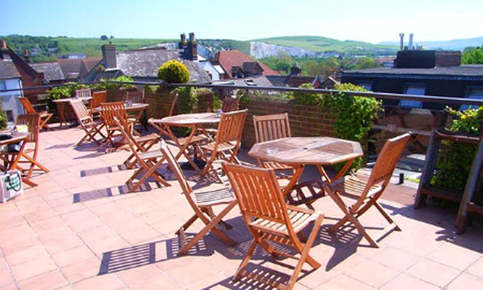 White Hart Hotel - The White Hart Hotel: Lewes: 1 or 2 Nights For Two With Dinner, Breakfast and Spa Access from £59 at The White Hart Hotel (Up to 52% Off)