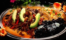 $10 for $20 Worth of Gourmet Mexican Food and Drinks at Blue Iguana