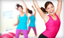 $50 for 10 Tabata Fitness Classes at Lexington Live Fit ($199 Value)