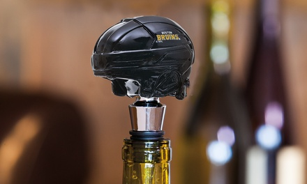 NHL Helmet Wine Bottle Stoppers 2-Pack