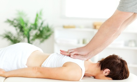 Four-Visit Chiropractic Package with Optional Spinal-Decompression Treatments at Team Chiropractic (95% Off)