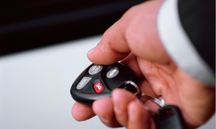 $119 for One-Button Remote Car Starter with Installation at Automotive Sound and Protection ($399 Value)