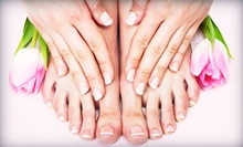 $39 for Two Mani-Pedis at Edgebrook Nail Spa and Massage ($78 Value)