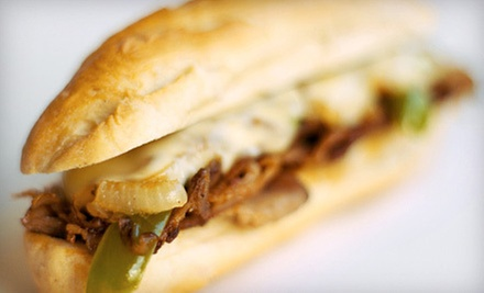 $12 for a Sandwich Meal for Two with Fries and Soft Drinks at Mama's Italian Deli ($26 Value)