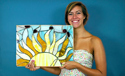 $59 for a Six-Week Stained-Glass or Glass-Fusing Package at Grand Central Stained Glass &amp; Graphics ($130 Value)
