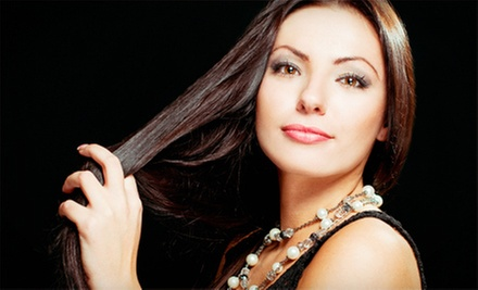 $49 for an Organic Keratin Coloring Gloss and Style at Salon Cardon ($100 Value)