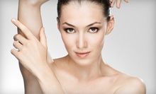Six Laser Hair-Removal Sessions on a Small, Medium, or Large Area at Solutions Medical Center (Up to 87% Off)