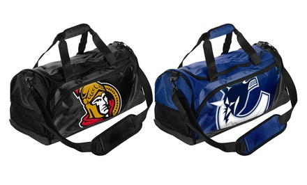 Forever Collectibles Officially Licensed NHL Small Locker Room Duffle Bags