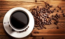 One Coffee Drink and Breakfast Item, or 3 $10 Café Food and Drink Vouchers at Heather's Coffee and Café (Up to 58% Off)