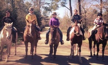 $49 for a Two-Hour Trail Ride for Two at Splendor Farms ($150 Value)